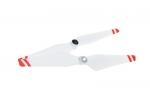 Пропеллеры DJI 9450 (2 штуки) металлический хаб, красные полосы