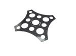 Нижняя пластина рамы DIY-X4/X8 (карбон)