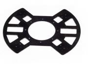 Нижняя пластина рамы квадрокоптера X650 (стеклопластик)