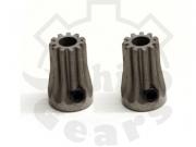 Rhino Gear Ultra Hardened Steel Pinions - 0.5M 12T - T-REX 450