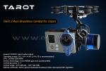 Tarot 2-х осевой подвес на бк-моторах для камеры GoPro Hero 3