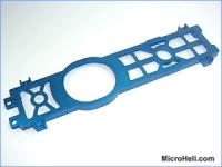 Нижняя площадка рамы Align Trex-500 алюминий синяя