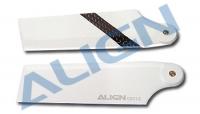 Лопасти хвостовые карбон Align Trex-600