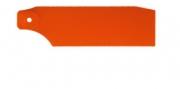 Лопасти хвостового ротора оранжевые, неоновые для Align Trex-450