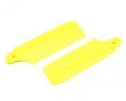 Хвостовые лопасти KBDD 40mm желтый неон Trex-250/Gaui-200