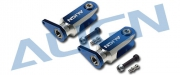 Цапфы основного ротора Align Trex-600/600N синие