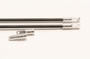 Подкосы балки для Align Trex-500 c серебристыми наконечниками