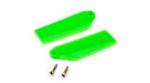Хвостовые лопасти Blade 130 X зеленые