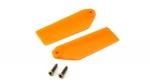 Хвостовые лопасти Blade 130 X оранжевые