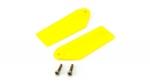 Хвостовые лопасти Blade 130 X желтые