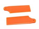 Лопасти хвостового ротора KBDD Blade 130 X оранжевый неон