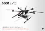 Гексакоптер DJI S800 EVO ARF kit