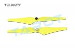 Пропеллеры Tarot 9x4.4 самозатягивающиеся, желтые