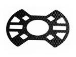 Нижняя пластина рамы квадрокоптера X650 (карбон)