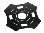 Нижняя пластина рамы квадрокоптера X450 (стеклопластик)