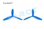 Пропеллеры Tarot 5x4.5 трехлопастные синие