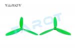 Пропеллеры Tarot 5x4.5 трехлопастные зеленые