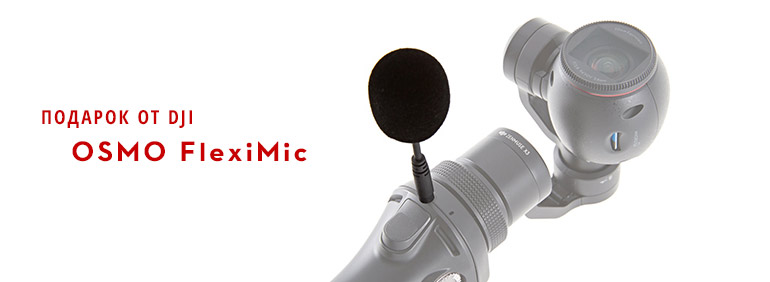 подарок DJI Osmo FlexiMic