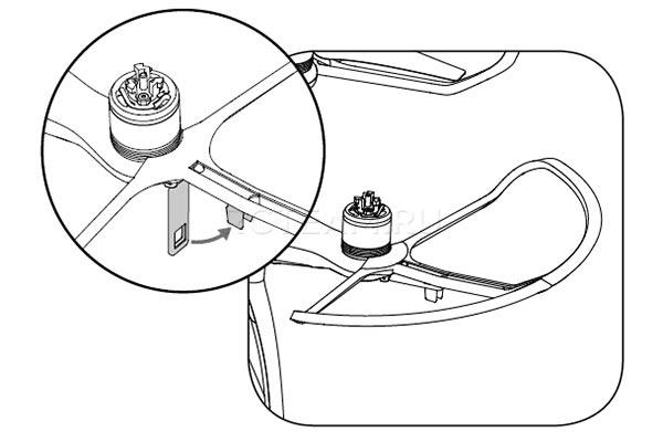 Защита пропеллеров оригинальная фантом по акции питание квадрокоптера