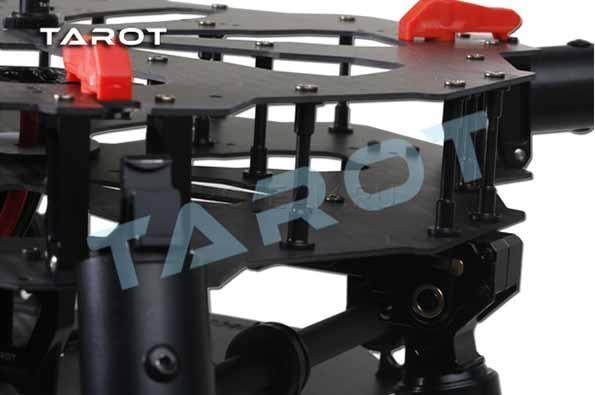Прочная, легкая, вибростойкая конструкция Tarot X4