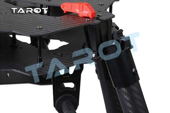 Электрическое убирающееся шасси Tarot X4