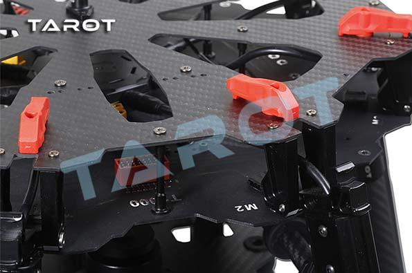 Встроенная печатная плата и искробезопасные соединения Tarot X8